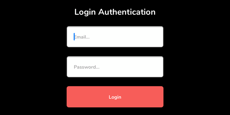 Web Login demo